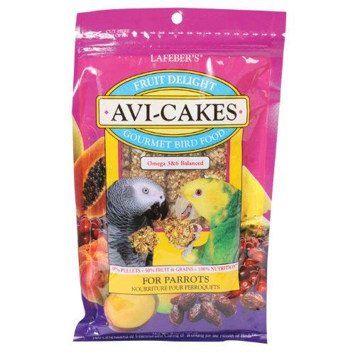 Cheap Lafebers Fruit Delight Avi-cakes for Parrots 8oz Bag (B007P2ESOK)