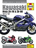 Haynes Manual for Kawasaki Ninja ZX-7R and ZX-9R (ZX750P, ZX900B/C/D/E) (94 - 04) Including an AA Microfibre Magic Mitt