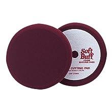 """Meguiar's W7000 Mirror Glaze Professional Soft Buff 8"""" Foam Cutting Pad"""