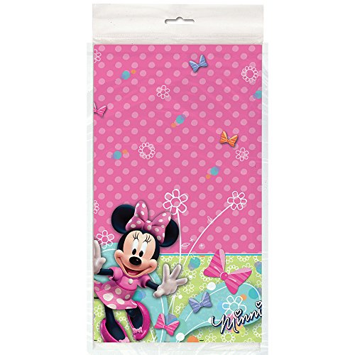 Minnie Mouse Party Plastic Table Cover - 1