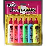 Tulip Spray Paint Starter Set (Neon Glow, Pack of 6)by Tulip