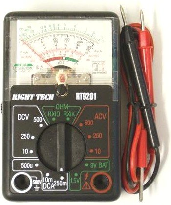 Buy Pocket Sized Analog Multimeter