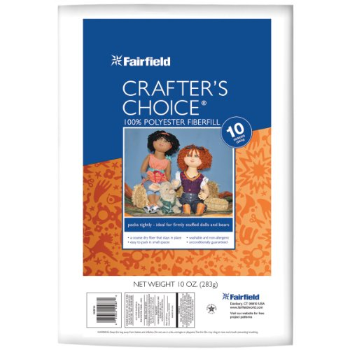 Crafter's Choice Polyester Fiberfill-10oz FOB: MI