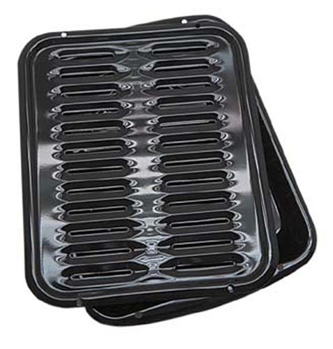 Range Kleen Porcelain Broiler Pan with Porcelain Grill (Small Grill Pan For Oven compare prices)