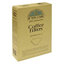 If You Care No. 4 Coffee Filters, 100-Count Boxes (Pack of 12)