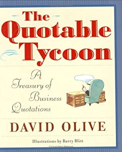"Cover of ""The Quotable Tycoon: A Treasury..."