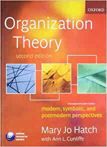 hatch and cunliffe Chapter 1 mary jo hatch with ann l cunliffe table 11 some applications of  organization theory structuring activities and designing  – a free powerpoint.
