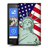 Head Case Designs Liberty American Pride Protective Snap-on Hard Back Case Cover for Nokia Lumia 520 525