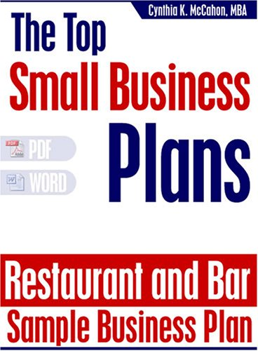 Business plan bar and grill
