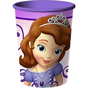 Disney Junior Sofia the First 16 oz. Plastic Cup