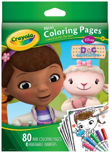 Crayola Doc McStuffins Mini Coloring Pages