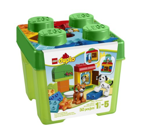 LEGO DUPLO Creative Play 10570 All-in-One-Gift-Set (Range Rover Baby compare prices)