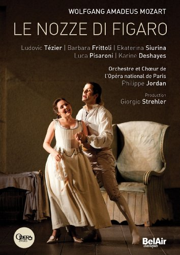 Mozart: Le Nozze di Figaro Barbara Frittoli, Ludovic Tezier, Ann Murray, Luca Pisaroni/Paris Opera/Philippe Jordan) [DVD]