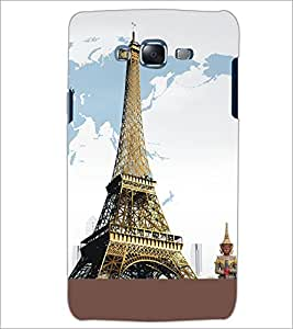 PrintDhaba Tower D-5430 Back Case Cover for SAMSUNG GALAXY ON 5 (Multi-Coloured)
