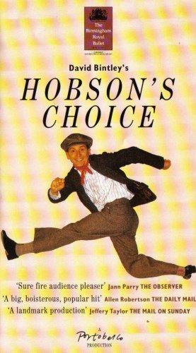 Hobson's Choice [1992] [VHS Tape] The Birmingham Royal Ballet; David Bintley...