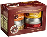 Sauce Goddess Spice Rub Box, 1.75-Ounce Tins (Pack of 4)