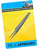 TWEEZERS TYPE 5A SA 115MM, Overall Length: 110mm, SVHC: No SVHC (19-Dec-2011) Tweezer Body Material: Stainless Steel, Tweezer Tip Material: Stainless Steel, Tweezer Type: Fine, Handle Material: Antimagnetic Steel, Length: 115mm
