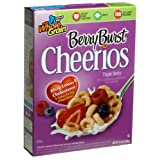 Cheerios Triple Berry Burst, 10.4-Ounce Box (Pack of 6) ~ General Mills Cereals