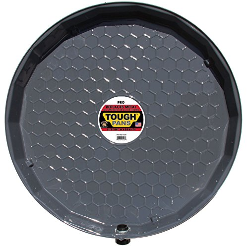Tough Pans 25 Inch Pro Hot Water Heater Drain Pan With Pvc