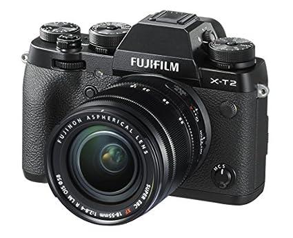 Fujifilm X-T2 Mirrorless Digital Camera (18-55mm F2.8-4.0 R LM OIS Lens) Image
