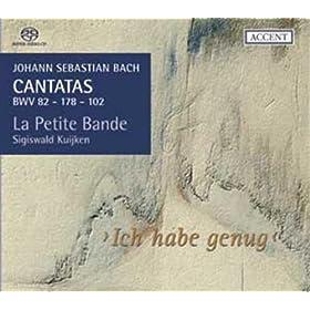 """Cantate """"Wo Gott der Herr nicht bei uns h�lt"""", BWV 178: Air """"Schweig nur, taumelnde Vernunft"""""""