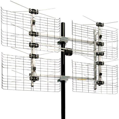 terrestrial digital db8 multi-directional  u0026 39 bowtie u0026 39  uhf dtv antenna   o   deals