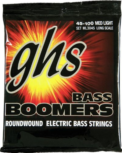GHS Strings Electric Bass Boomer Set (Medium