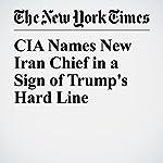 CIA Names New Iran Chief in a Sign of Trump's Hard Line   Matthew Rosenberg,Adam Goldman