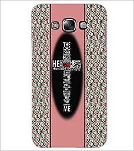 PrintDhaba Typographic Cross D-3358 Back Case Cover for SAMSUNG GALAXY GRAND 3 (Multi-Coloured)