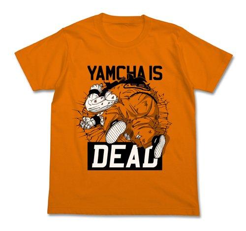 ドラゴンボール改 ヤムチャイズデッドTシャツ オレンジ サイズ:L