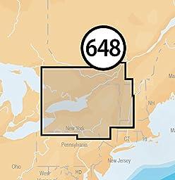 Navionics Platinum Plus 648P+ Lake Ontario Marine and Lake Charts on SD/MSD