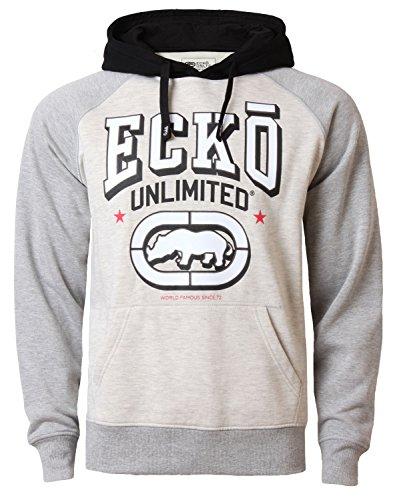 Ecko Unltd sweat-shirt felpa con cappuccio da uomo con cappuccio BERKELEY