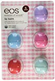 eos Organic Lip Balm, 5 Pack, Passion Fruit, Blueberry Acai,...