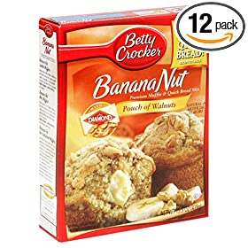 betty crocker banana nut muffin mix bread recipe
