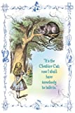 Art Poster, Alice in Wonderland: It's the Cheshire Cat - 18.75 x 27.5