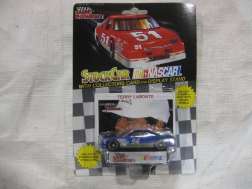 nascar-94-terry-labonte-sunoco-racing-team-stock-car-with-drivers-collectors-card-and-display-stand-