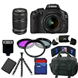 Canon Eos Rebel 550D SLR Camera + 18-55mm + 55-250mm 32GB Lens Package Picture