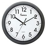 "IMPECCA Non Ticking Wall 12"" Clock (M..."