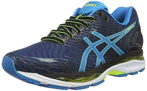 asics-mens-gel-nimbus-18-competition-running-shoes-multicolor-poseidon-blue-jewel-safety-yellow-9-uk
