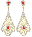 Dazzle Collections Shining Diva AD Earrings