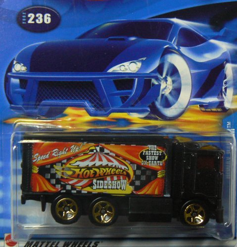 Hot Wheels 2002 Hiway Hauler 236 BLACK Truck 1:64 Scale