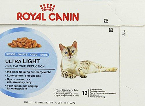 Royal Canin Ultra Light Wet Pouch 12 x 85g