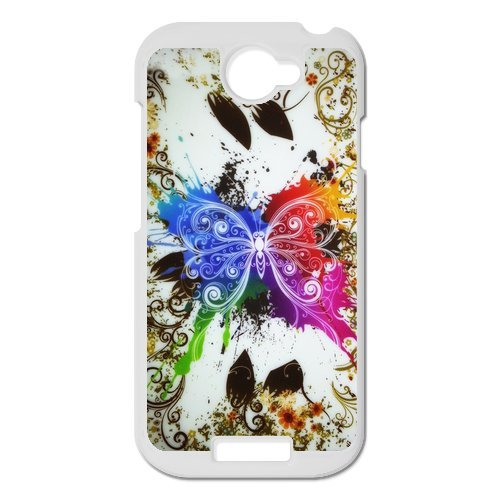 Generic Cell Phone Cases Cover For Htc One S Case Fashionable Art Designed With Beautiful Butterfly - K Personalized Shell front-972097