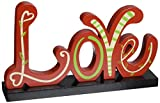StealStreet SS-UG-SGA-022 Love Tabletop Display Decoration, Red