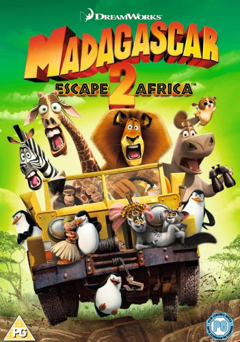 Cover art for  Madagascar: Escape 2 Africa (2009) Ben Stiller; Chris Rock