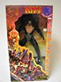 KISS - 1998 - Art Asylum - KISS Destroyer - Paul Stanley : The Starchild - GIANT 24 Inch Action Figure - Authentic Costume / Ultra Articulation / Numbered w/ COA / Devastated City Base w/ Audio Samples From Album - VERY RARE - Out of Production - Limited Edition - Collectible