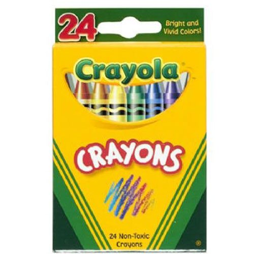 Crayola 24 Ct Crayons (Amber Trading Inc compare prices)