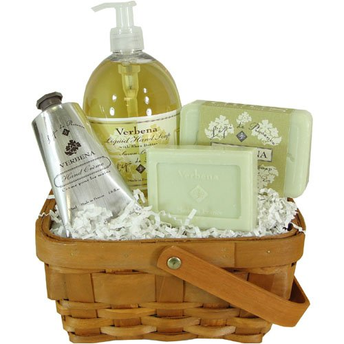 L'Epi de Provence Bath Luxury Spa Gift Basket, Verbena