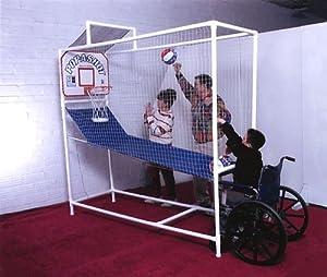 Pop-A-Shot Wheelchair Standup Electronic Basketball Game by Pop-A-Shot