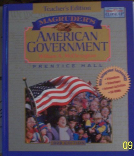 Magruder's American Government Teacher's Edition